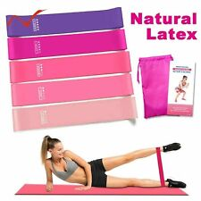 Resistance Bands Loop Exercise Sports Fitness Home Gym Yoga Latex UK Stock