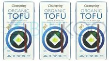Clearspring Organic ambiante Tofu - 300 g (Pack de 3)