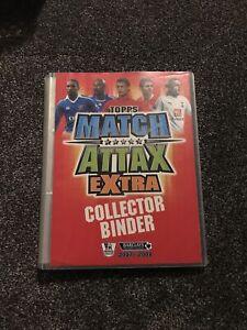 Match Attax Extra 07/08 Full Complete Binder