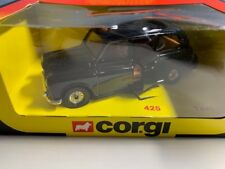 Corgi 425 Taxi negro Colección miniatura coche