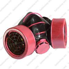 New High Quality Metal Pink Light Up Respirator Gas Mask