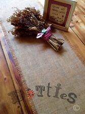 8ft Rustic Handmade Hessian Table Runner