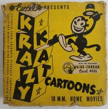 """Krazy Kat in """"Gym Jams"""" 16mm - Excel Films"""