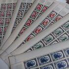 FEUILLE SHEET TIMBRE CÉLÉBRITÉS N°867/872 x25 1950 NEUF ** LUXE MNH COTE 2375€