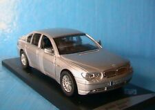 BMW 7ER SILVER 2005 SOLIDO 1/43 SEDAN BERLINE SALOON