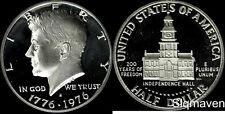 1976 S 40% Silver Kennedy Half Dollar Cameo Gem Proof