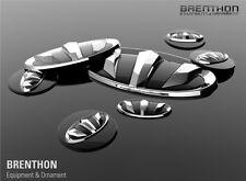 Accessoires pour Kia Sportage 2010-2015 Emblème Set Brenthon Logo 7 Pièces