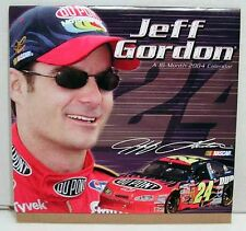 2004 NASCAR Calendar- Jeff Gordon 16 Month