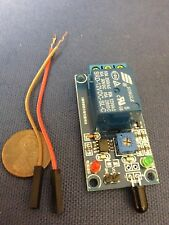 1-way-12V flame sensor module Relay Module Fire flame detection Fire alarm c4