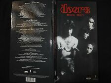 COFFRET 4 CD THE DOORS / BOX SET / LONG BOX /