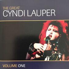 CYNDI LAUPER THE GREAT CYNDI LAUPER VOL.1 CD 2003 AUSTRALIAN PRESSING