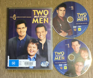 Two And A Half Men DVD Incomplete Set 5 Disc Comedy Bundle Lot R4 PG