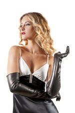 Parisi Leather Gloves Silk 60 cm / guanti pelle fod. seta 60cm  leder handschuhe