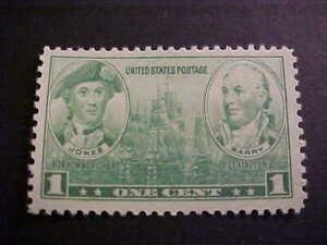 Scott # 790 Green 1 cent Unused OGNH