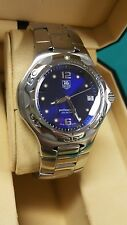 Mens Tag Heuer Kirium Full Size Watch Blue Dial Good Condition