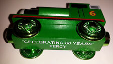 """Thomas And Friends Wooden Railway """"Celebrating 60 Years""""  PERCY Learning Curve"""