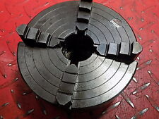 "Pratt Burnerd 6"" 4 jaw independent lathe chuck boxford raccord vgc engineering"