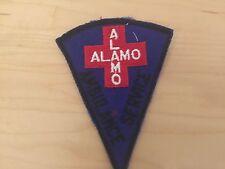 AMBULANCE SERVICE , PATCH,ALAMO ,70'S, NEW OLD STOCK,