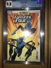Fantastic Four (Volume 5) #21 CGC 9.8 Wolverine Spiderman Molina variant