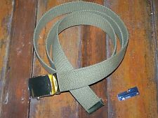 Web Belt Coyote Brown Military Army Vintage Style Cotton Fashion f Jeans Uniform