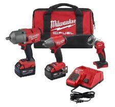 """Milwaukee 2996-23 M18 High Torque 1/2"""" and 3/8"""" Impact Kits"""
