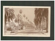 UNITED STATES OF AMERICA USA CANON DRIVE CALIFORNIA REAL PHOTO POSTCARD POSTED