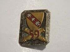 INSIGNE BADGE 59eme REGIMENT D'ARTILLERIE