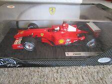 Hotwheels F1 Michael Schumacher 1/18 Ferrari F2001  Formula One Diecast NIB