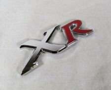 TOYOTA MATRIX XR EMBLEM 03-08 BACK TRUNK OEM RED/CHROME BADGE sign symbol logo