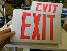 New Rexel Bizline RX3RWE Universal Emergency LED Exit Sign 120/277vac  D4