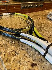 2 Yonex E Zone AI 100 Tennis Rackets.  Size 0.