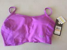 Women's Under Armour Vent Heatgear Sports Bra Purple Size S Small 1246838 NWT