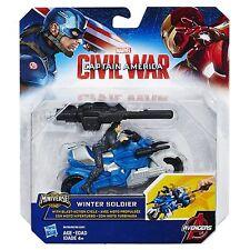 Marvel Capitán América Guerra Civil - Invierno Soldado con blast-action ciclo