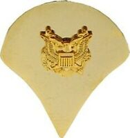 ARMY SPECIALIST 4TH  GOLD MILITARY RANK SPEC 4  PIN
