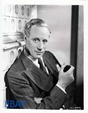 Leslie Howard sexy w/pipe RARE Photo