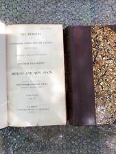 The memoirs of Conquistador Castillo, Mexico and New Spain 1844, 2 vol
