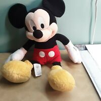 "Disney Store Mickey Mouse 19"" Plush Genuine Authentic Original Stuffed Toy"