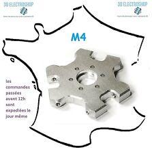 Support alu M4 pour J-head E3D delta kossel fisheye effector imprimante 3D