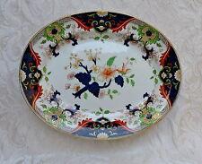 Antico vassoio di ceramica Royal Doulton, decoro Matsumai, c 1910