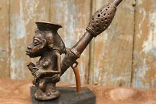 Cameroon Royal Bronze Pipe