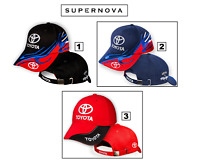 Toyota 3D Embroidered Auto Car Logo Baseball Cap Hat Mens Womens Black Blue Red
