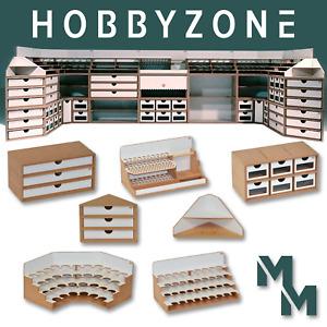 Hobbyzone Module Modular Workshop System Desk Organiser Tidy Paint Tools MWS