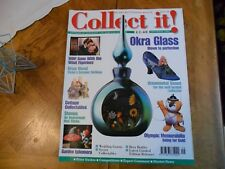 COLLECT IT MAG #39 OKRA GLSS SHOES BRIAN WOOD CERMICS STAMPS OLYMPIC MEMORABILIA