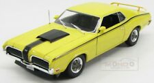 Mercury Cougar Eliminator Coupe 1970 Yellow Black Welly 1:18 WE12520Y