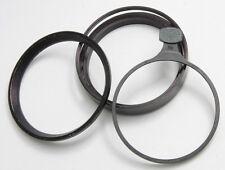 Linhof 80mm Threaded Filter Adapter w Part 70mm Holder + Wide Hood - USED C581