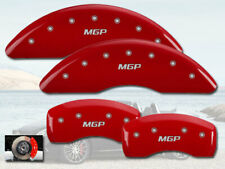 2014-2017 Mercedes Benz S550 Front + Rear Red MGP Brake Disc Caliper Covers 4p