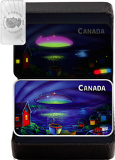 2020 UFO Clarenville Event Unexplained Phenomena $20 Silver Proof Glow-Dark Coin