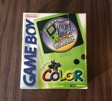 Nintendo Game Boy Color Pokemon Crystal Kiwi Limited Edition System - BRAND NEW
