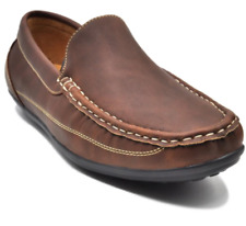 Tanggo Lloyd Formal Shoes Leather Black Shoes Slip-On/Loafers for Men (coffee)