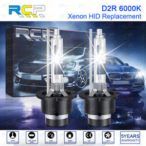 2x NEW Xenon D2R HID Bulbs 35W OEM Headlight Replacement Bulb 4300K 6000K 8000K